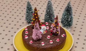 Fondant au chocolat spécial Noël