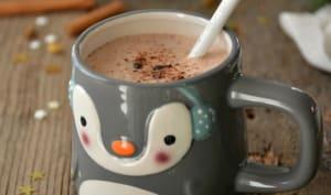Chocolat chaud cru aux épices