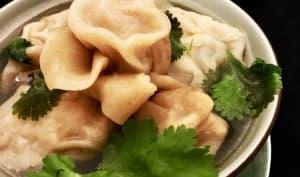 Soupe Wan Tan à notre façon