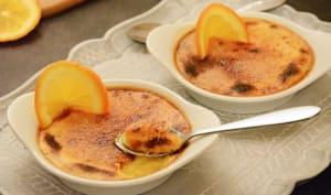 Crèmes brûlées à l'orange