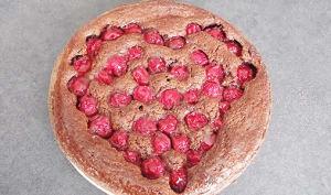 Tarte chocolat cerise