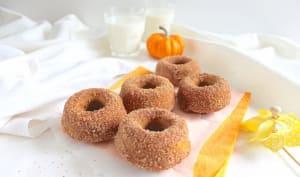 Donuts potiron et cannelle