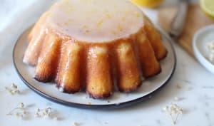 Gâteau à la polenta, à la bergamote et au citron