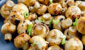 Champignons rôtis au miso