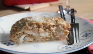 Gratin de quinoa au chou-fleur & dos de cabillaud