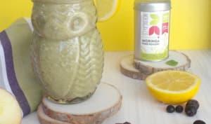 Smoothie pomme banane au moringa