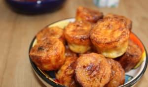 Mini cannelés au bacon et tomates séchées