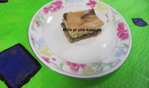 Gâteau à la farine de millet jaune et gelée de raisin