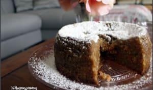 Carrot cake végétalien
