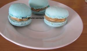 Ganache caramel au beurre salé pour des macarons