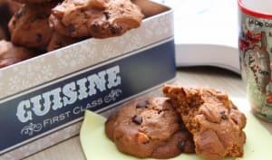 Cookies aux kumquats confits, cacao et pépites de chocolat
