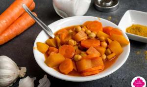 Curry de légumes et pois chiches