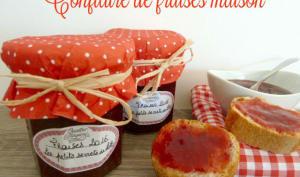 Confiture de fraises maison