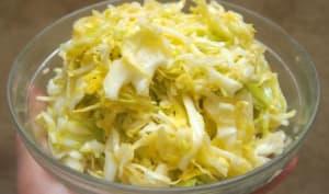 Salade de chou Atlas à la japonaise