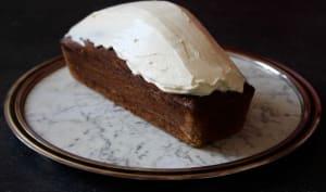 Gâteau à la betterave et glaçage au philadelphia façon carrot cake