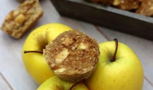 Muffins aux pommes et flocons d'avoine sans sucre ajouté