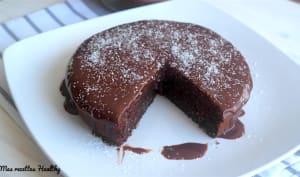 Fondant chocolat et coco au mascarpone