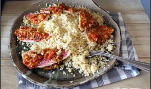 Filets de rougets aux légumes d'été et son boulgour