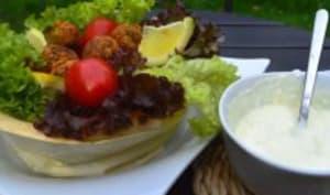 Salade de falafels libanais