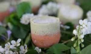 Oeufs de Pâques glacés au thé Matcha