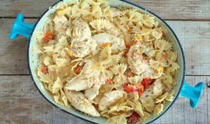 Poêlée de poulet aux épices, yaourt