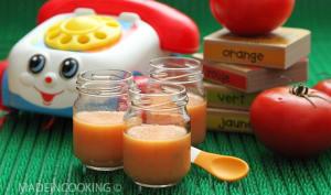 Purée de tomate et de pomme de terre