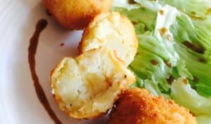 Croquettes de pomme de terre au cheddar
