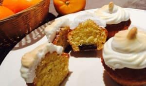 Cupcakes meringués orange chocolat