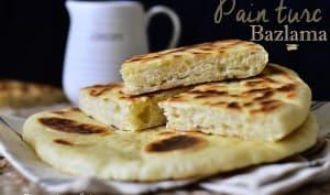 Bazlama pain turc à la poêle