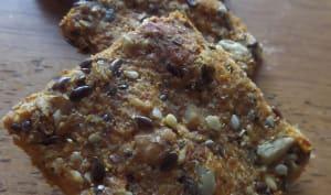 Biscuits apéro carottes et graines