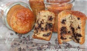 Jar cake au chocolat, amandes et noisettes
