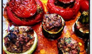 Légumes d'été farcis