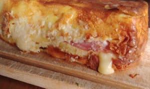 Gâteau aux pommes de terre et au Pont-l'Evêque