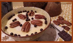 Porridge sans flocon au lait de coco