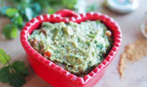 Guacamole à ma façon, coriandre et piment d'Espelette