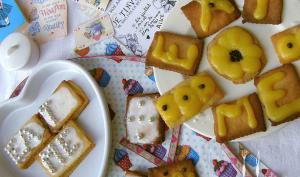 Biscuits sablés à la crème de citron et virgin Mojito d'Alice