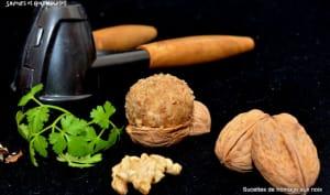 Sucettes de fromage frais aux noix du Périgord