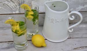 Eau parfumée citron menthe