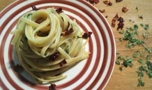 La pasta aglio olio e peperoncino du lazy sunday