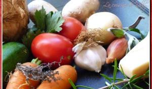 Fond de légumes maison