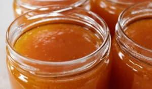 Confiture d'abricots à la verveine citronnelle