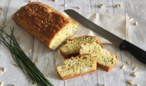 Cake apéritif fromage ciboulette