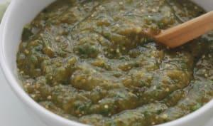 La vraie salsa verde mexicaine