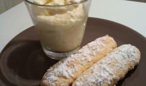 Mousse au citron et biscuits cuillers maison