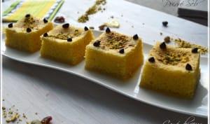 Carré douceur au citron et pistache