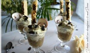 Verrine cocktail aux champignons à la mode Slovène