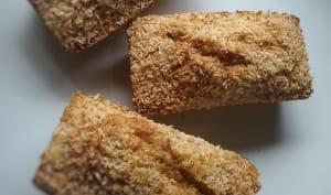 Cakes individuels flocons d'avoine et noix de coco