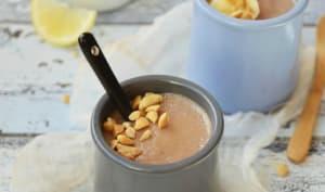Crème express banane et cacahuète