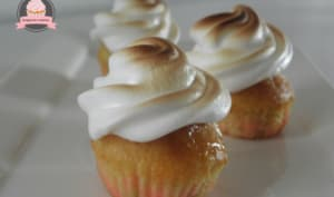 Mini cupcake au citron meringué Berko