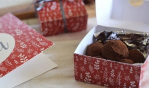 Truffes au chocolat et à la fève tonka